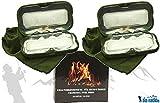 DD-Tackle Sparpack 2 Handwärmer + 20 Brennstifte Taschenofen