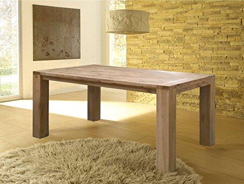 Milano Esszimmertisch 200x100 / Esstisch / Tisch / Holztisch / Massivholz - Akazie