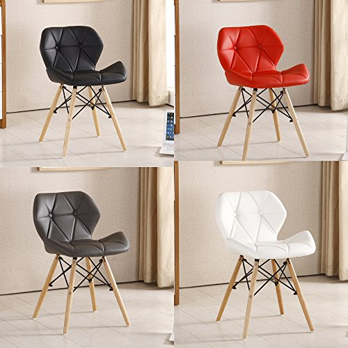 Gentil Pu0026N Homewares® Cecilia Eiffel Millmead Inspired Chair Plastic Retro White  Black Grey Red Dining Chair Office Chair Lounge   Inexpensive UK Light Shop.