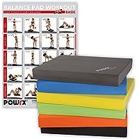 POWRX Balance Pad inkl. Workout Ideal zum Training von Gleichgewicht, Stabilität und Koordinationstraining preisvergleich bei fajdalomcsillapitas.eu