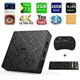 [Free Wireless Keyboard] 2018 J 4K 7.1 Android TV Box