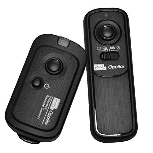 Pixel Kabellose Fernauslöser RW/DC2 Auslöser Fernbedienung für Nikon D3100, D3200, D3300, D5000, D5100, D5200, D5300, D5500, D90, D7000, D7100, D7200, D600, D610, D750, Coolpix P7700, P7800, Coolpix A