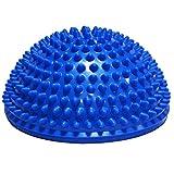 Queta 1 x Durian Ball Balance Training Fitness Kuppel Fußball Massage Ball Balance Bowl Sense Training Ball Yoga Ball Pilates Ball blau blau