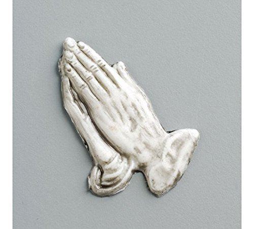 "EFCO ""Praying Hands"" Wax, bianco/grigio, 50 x 20 mm"
