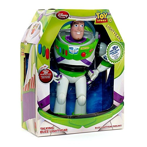 Disney Advanced Talking Buzz Lightyear Action Figure (Toy Story Toy Brust)