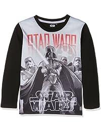 Star Wars-The Clone Wars Darth Vader Jedi Yoda Jungen Langarmshirt 2016 Kollektion - schwarz