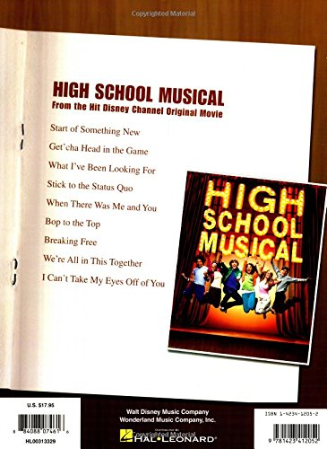 High School Musical - Selections: Piano, Vocal, Guitar