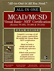All-in-one Mcad/Mcsd Visual Basic .net Certification: Exams 70-305, 40-306, 70-310