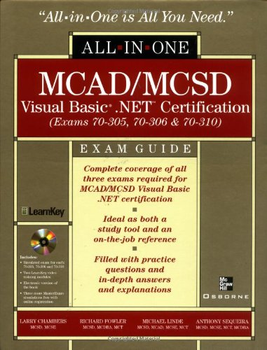 MCAD/MCSD Visual Basic .NET Certification All-in-One Exam Guide por Larry Chambers