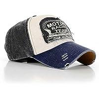 Bobury Mode Casquettes Vintage Baseball Golf Chapeau ajustable en coton