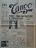 Tango. Settimanale di satira, umorismo e travolgenti passioni, diretto da Sergio Staino, N.101, 21 marzo 1988