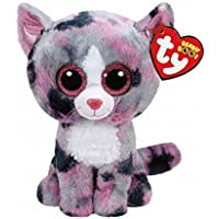 Claires Accessories TY Beanie Boos Small Lindi the Kitten Plush Toy by Claires