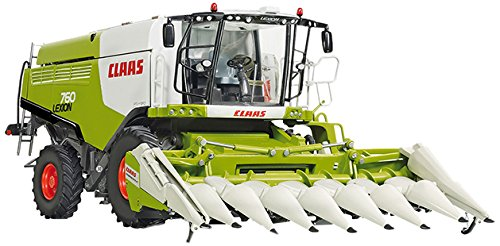 Wiking 7340 - Claas Lexion 760 Mähdrescher mit Maisvorsatz