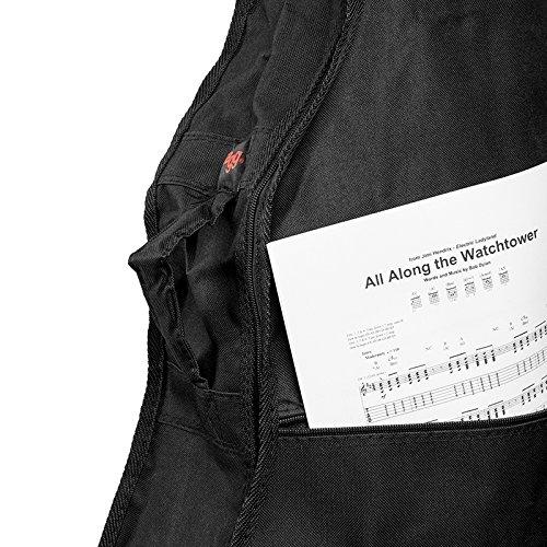 Stagg STB-1Ständigen wirtschaftlichen Serie Nylon Tasche für Tenor-Ukulele -