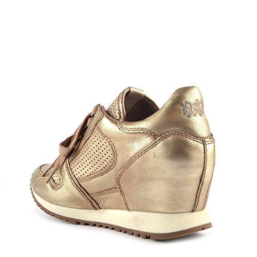Ash Schuhe Dean Keil Sneaker aus Leder, Damen Platine