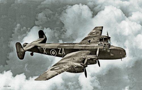 Imagen principal de Revell - Maqueta Handley Page Halifax B Mk.I/II GRII, escala 1:72 (04670)