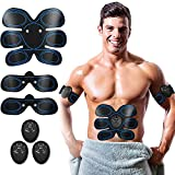 HUIZZ Abs Trainer,Ems Muscle Stimulator,Abdominal Muscle toner Fitness Training Gear ABS Fit Weight