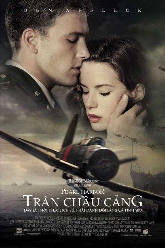 Pearl Harbor Plakat Movie Poster (27 x 40 Inches - 69cm x 102cm) (2001) Vietnamese B (Pearl Harbor Ben Affleck)