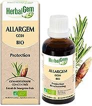 HerbalGem | Allargem Bio | Complexe de Gemmothérapie Concentrée| Le Bouclier Naturel des Allergies | 30 ml
