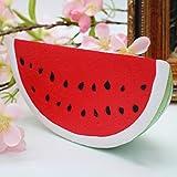 Mignon Slow Rising Fruits Jouets Doux Squishy Watermelon Stress Anxiété Réducteur Creative Squeeze PU Jouet Décor À La Maison