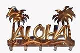 Aloha Metal Key Chain Holder