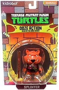 Teenage Mutant Ninja Turtles Ooze Action Glow In The Dark Series Master Splinter Action Figure