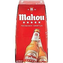 Mahou Cinco Estrellas cerveza premium 4 x 330 ml