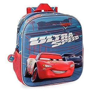 51 y7dC ZdL. SS300  - Disney Bolsa de viaje Cars Ultra Speed 40 cm