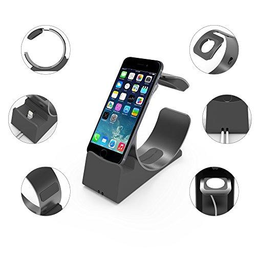 2 in 1 apple watch halterung apple watch und iphone. Black Bedroom Furniture Sets. Home Design Ideas