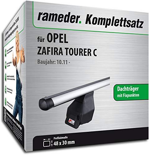 Rameder Komplettsatz, Dachträger Tema für OPEL Zafira Tourer C (118853-09717-7)