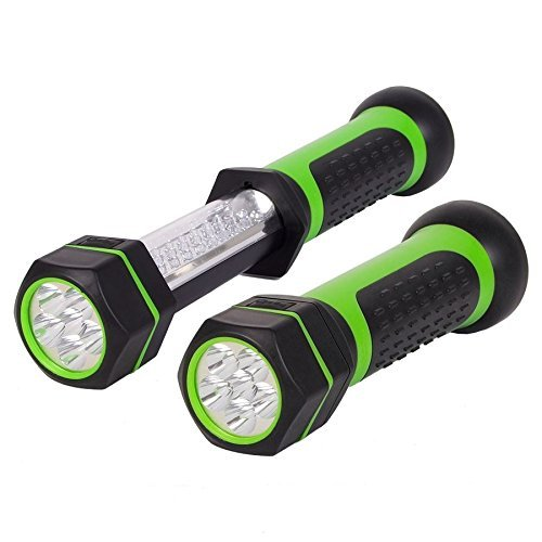 LED-Akku-Arbeitslampe mit Magnet Arbeitsleuchte Werkstatt-Lampe Stab-Handlampe
