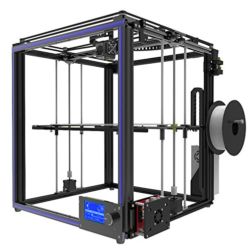 Imprimantes 3D Haute Précision Prusa i3 Upgrade Taille d'impression Plus Grande 330 * 330 * 400mm, Bricolage Auto-assemblage Ensemble d'imprimante 3D en Carré en Aluminium Complet