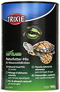 Trixie - 76274 - Mélange d'aliments naturels - Pour tortues d'eau - 1000 ml / 160 g