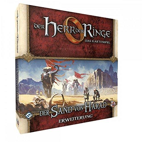 Herr der Ringe: Kartenspiel LCG - der Sand von Harad - Erweiterung-7 | Deutsch | Tolkien Asmodee FFG