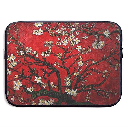 Laptop-Tasche Handtasche Computer-Notizbuch Tablet Briefcase Carrying Bag Waterproof Laptop Sleeve Pocket MacBook Air Pro Case Van Gogh Cherry Blossoming Cover for All Computer Notebook 13 Inch bagpa (Macbook Air Fälle Elefant)