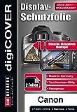 digiCOVER Basic Displayschutzfolie Canon EOS 80D -