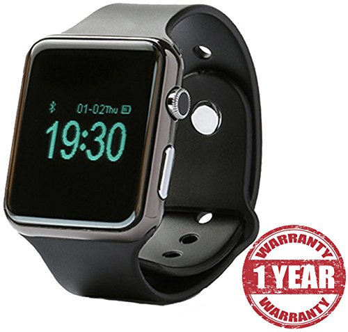 Google-Pixel-XL-Compatible-Certified-Bluetooth-Smart-Watch-S31-Wrist-Watch-Phone-with-Camera-SIM-Card-Support-Black