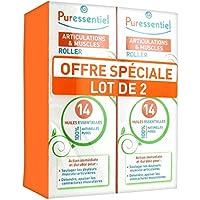 Puressentiel Roller Articulations aux 14 Huiles Essentielles Lot de 2 x 75 ml