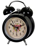 #7: Antique Twin Bell Alarm Clock For Home Decoration