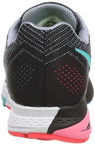 Nike Air Zoom Structure 18 Damen Laufschuhe Grau (Magenta Grey/Hyper Punch/Black/Hyper Jade)