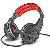 Trust Cuffie Gaming GXT 310 Radius con Microfono e Archetto Regolabili, 3.5 mm Jack, Filo, Over Ear, PC, PS4, PS5, Xbox…