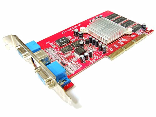 Computer Ati Radeon 7000 (Connect 3D ATI Radeon VE / 7000 64MB 2xVGA TV AGP Video Card PN8912-991 C3D 6003 (Generalüberholt))