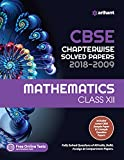 CBSE Chapterwise Solved Paper Mathematics Class 12th (Old edition)