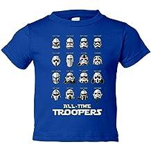 Camiseta niño Star Wars Troopers de todos los tiempos
