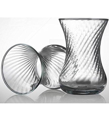 Teegläser 6 Tlg Keyif mit Griff 150 ml Pasabahce türkische Tee Gläser
