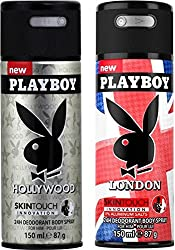 Play Boy Hollywood And London Combo Set��(Set Of 2)