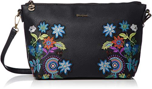 Desigual Damen Handtasche Tasche Schultertasche MAVI CATANIA Schwarz 18WAXPD2