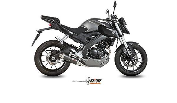 Yamaha Mt 125 2016 Komplette Auspuffanlage Mivv Gp Carbon Auto