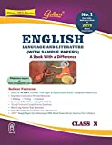 Golden English Language and Literature: (With Sample Papers) A book with a Differene for Class - 10 (For 2019 Board Exams)