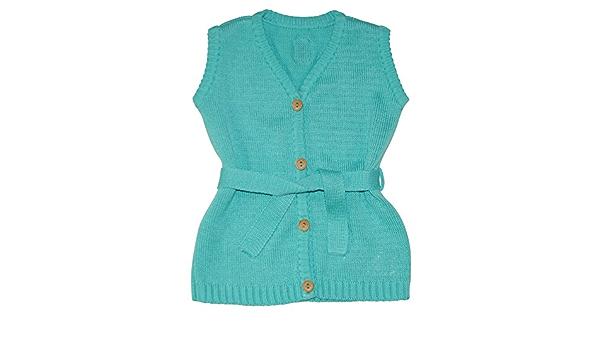 Those Baby Basics M/ädchen Strickweste /ärmellos Gr 68-110